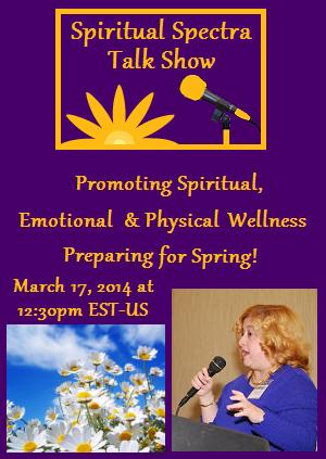 Preparing for spring spiritual spectra talk show for Preparing for spring